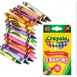 Colores de cera Crayola 16und