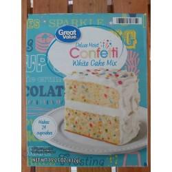 Mezcla de torta Confetti...