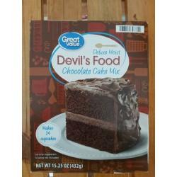 Mezcla de Torta Devils Food...