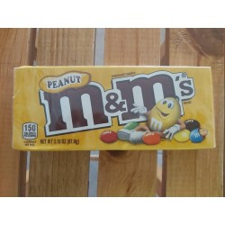 M&M Yellow  (Box)  Peanut...