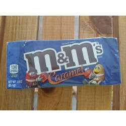M&M Blue  (Box)  Caramel...
