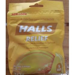 Caramelos Halls Relief...