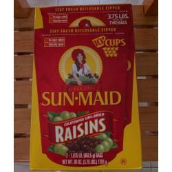 Pasas Sun-Maid caja de 1.701kg