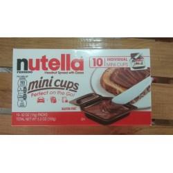 Nutella MIni cups 10 und