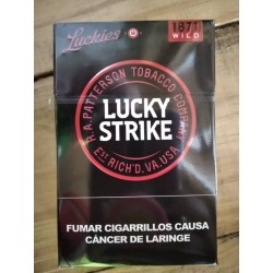 Cigarros Lucky Strike Negro