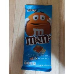 Chocolate M&M Crispy azul...
