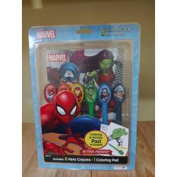 Juego Spiderman marcadores...