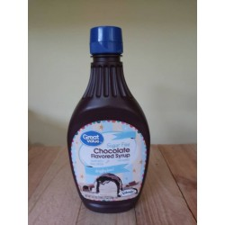 Syrup Chocolate Great Value...