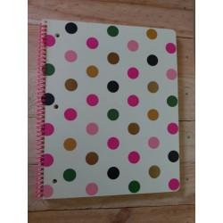 Cuaderno espiral Pepas /...