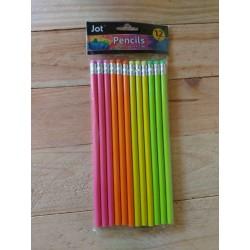 Lapices de neon Jot 12 pzas