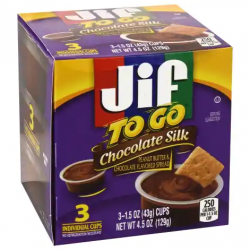 Chocolate Silk JIF To Go 129g