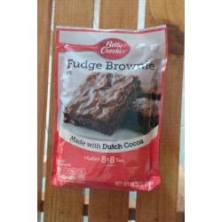 Mezcla fudge brownies mix...